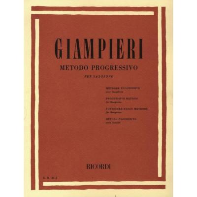 Metodo Progressivo per Sax Giampieri