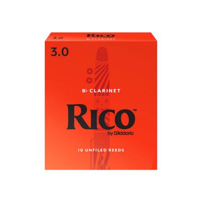 RICO Ancia per Clarinetto Sib Spessore 3 - Pack 3 pezzi by D'Addario