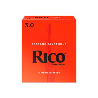 RICO Ancia per Sax Soprano Spessore 2.5 - Pack 3 pezzi by D'Addario