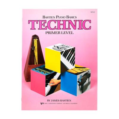 Bastien Piano Basics Technic - Metodo per Pianoforte Livello Base