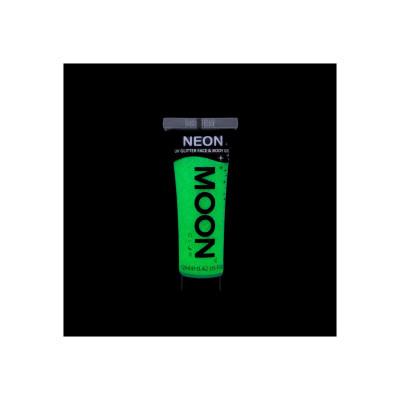 Gel Fluo Glitter per Viso e Corpo - Green