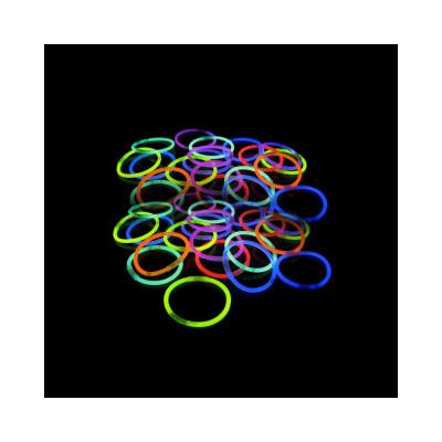 Braccialetto Fluo Mix Color 100 pezzi