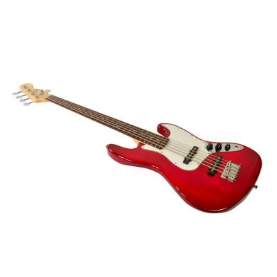 Bryce BBG011 Basso Elettrico 5 Corde colore Rosso