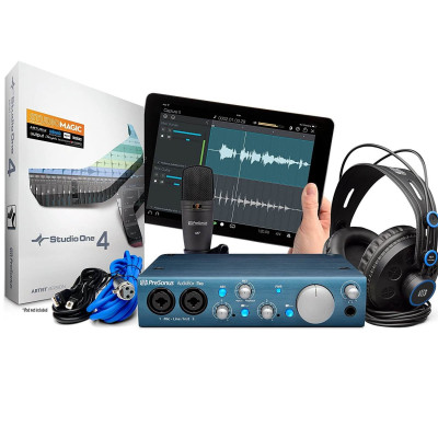 Scheda Audio PRESONUS Audiobox iTWO Studio Bundle