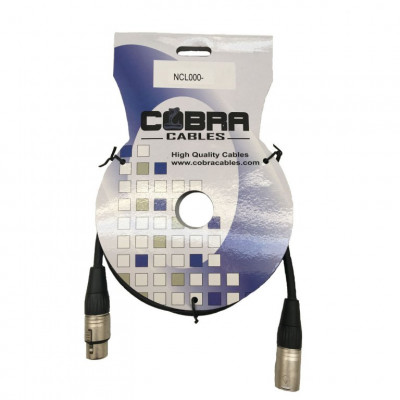 Cobra Cavo XLR M- XLR F 0,5 metri