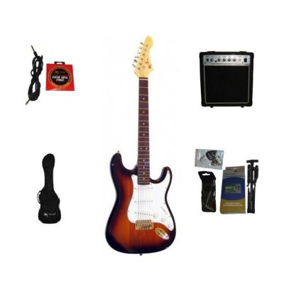 Guitar Pack SubBurst EG100 Chitarra Elettrica e Amplificatore