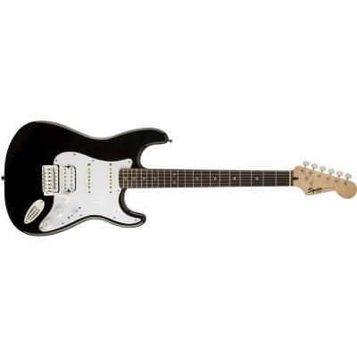 Chitarra elettrica Fender Squier Bullet Stratocaster HSS, Black con tremolo