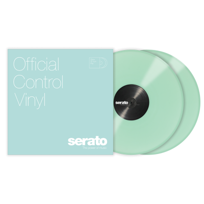 Serato Coppia di Vinili 12'' Glow in the Dark Fosforescenti