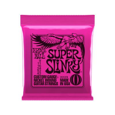 Ernie Ball Super Slinky Corde per Chitarra elettrica