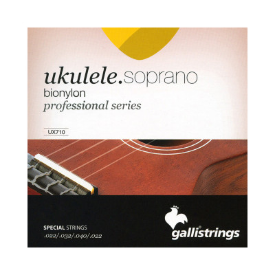 Galli UX 710 Corde per Ukulele Soprano