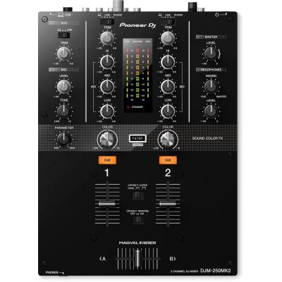 Pioneer Djm 250 MK2 Mixer Dj Nero
