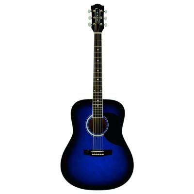Eko Ranger 6 Blue Sunburst Chitarra acustica