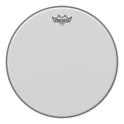 "Pelle Battente trasparente 13"" Per Tom e Rullante  - REMO 310BE King Emperor Clear 13"""