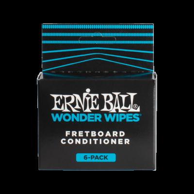 Ernie Ball salviette Fretboard Conditioner per la pulizia del manico (confezione da 6)