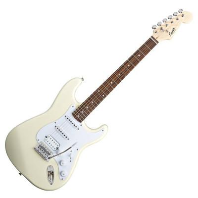Chitarra elettrica Fender Squier Bullet Stratocaster Artic White con Tremolo
