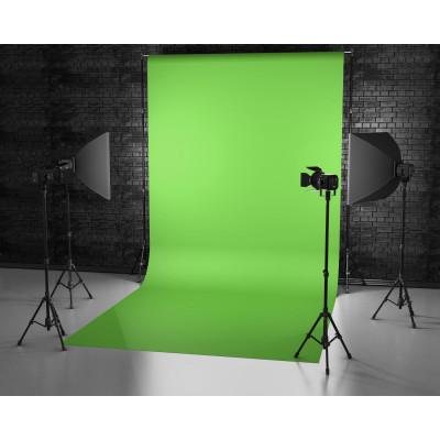 Atomic Pro Fondale fotografico Green Screen 3 x 6 m