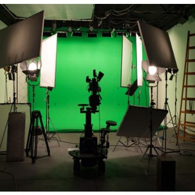 Atomic Pro Fondale fotografico Green Screen 4 x 4 m