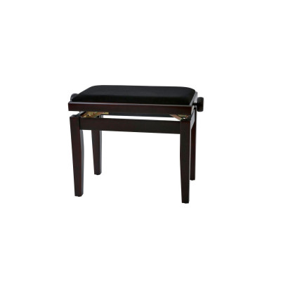 Panca per pianoforte Palissandro Satinato Regolabile
