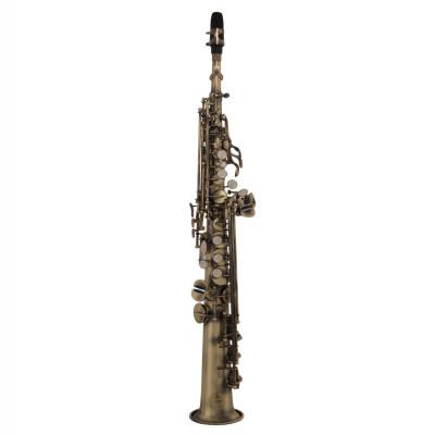 GRASSI SSP830 Sassofono Soprano per studenti Anticato