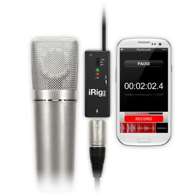 iRig Pre Interfaccia per microfono XLR per iOS e Android