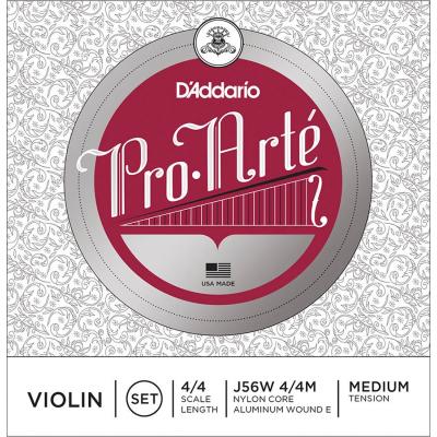 Corde Violino D'addario Pro Artè J56W 4/4 Set Medium