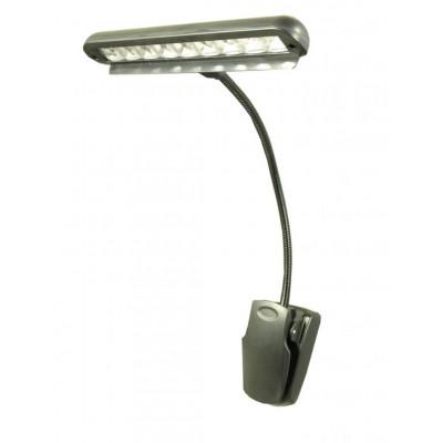 Cobra LED18 Lampada Per Leggio a Clip con Batterie 3*AA
