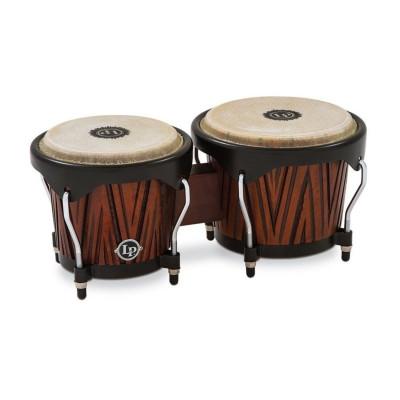 Bongos City Carved Mango Latin Percussion LP601NY-CMW