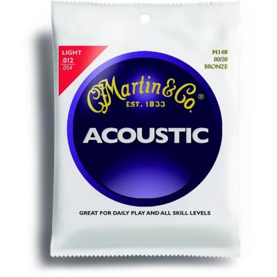 Martin M140 Corde per Chitarra acustica