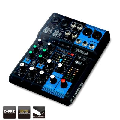 Yamaha MG06X Mixer 6 canali con effetti