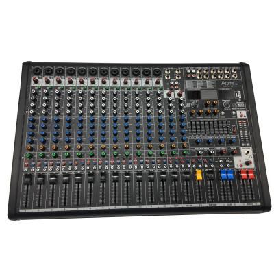 Atomic Mix-X 16 - 12 Canali Mono - 2 Canali Stereo - Usb Bluetooth Recorder