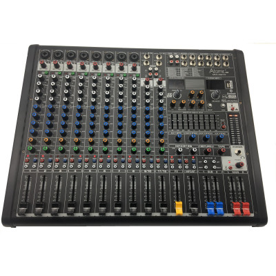 Atomic Mix-X 12 - 8 Canali Mono - 2 Canali Stereo - Usb Bluetooth Recorder
