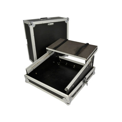 Cobra Mixer Flight Case 10U con supporto Laptop