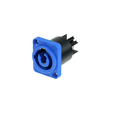 Neutrik NAC3MPA1 Connettore Powercon da Pannello IN Blu