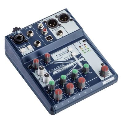 Mixer Soundcraft Notepad5