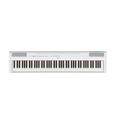 Yamaha Piano Digitale P-125 White Bianco