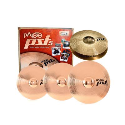"""Paiste PST5 universal Set Piatti per Batteria 14/16/20"""" + Crash 18"""""""
