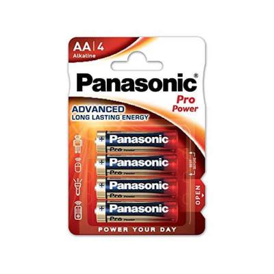 Batterie Panasonic Alkaline stilo AA. 4 -pack