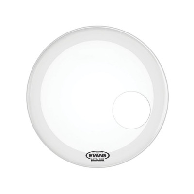 Evans EQ3 Coated White Resonant Pelle per Cassa 20""