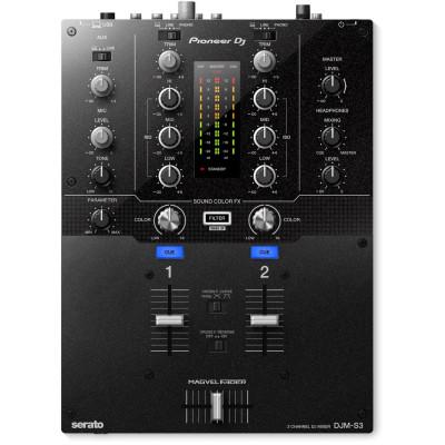 Pioneer DJM-S3 2 canali Battle Mixer Serato