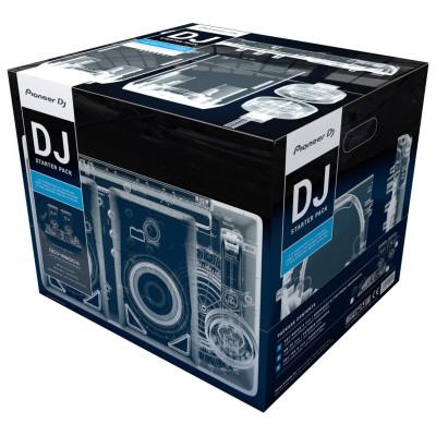Pioneer DJ-STARTER-PACK con WEGO4-K, DM-40 e HDJ-700-K