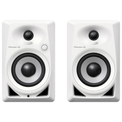 "Coppia Monitor Pioneer DJ DM-40 4"" Bianco"