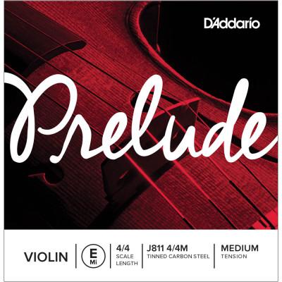 Corda Singola per Violino D'addario Prelude - Corda singola Mi J811 M
