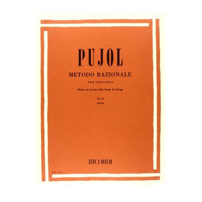 Pujol - Metodo Razionale per chitarra Volume II