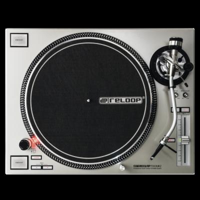 Reloop RP 7000 MK2 silver Giradischi DJ Trazione Diretta