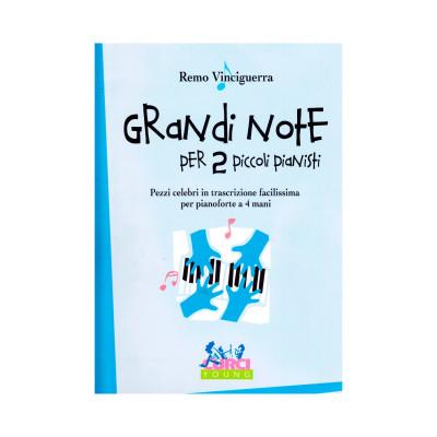 Remo Vinciguerra - Grandi note per 2 piccoli pianisti