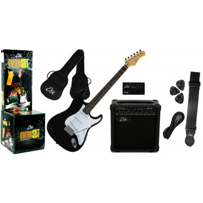 Chitarra Guitar Pack Eko EG-11 Black
