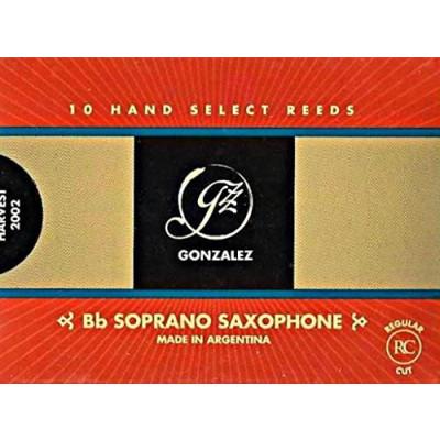Gonzalez Ancia Sax Soprano n° 3 Confezione da 10