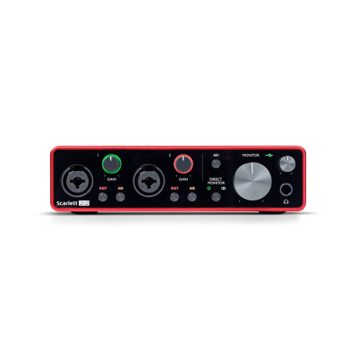 Scheda Audio FOCUSRITE 2I2 (3GEN) Scarlett INTERFACCIA AUDIO