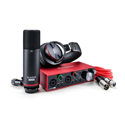 Scheda Audio FOCUSRITE Scarlet STUDIO BUNDLE2I2 (3GEN)