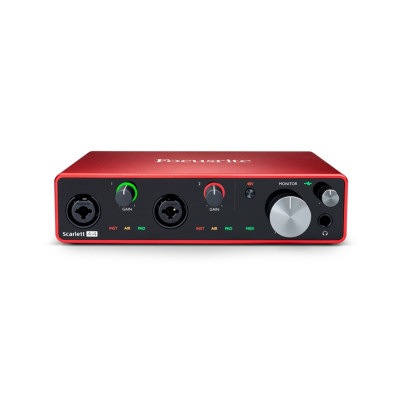 Scheda Audio FOCUSRITE 4i4 (3GEN) Scarlett INTERFACCIA AUDIO
